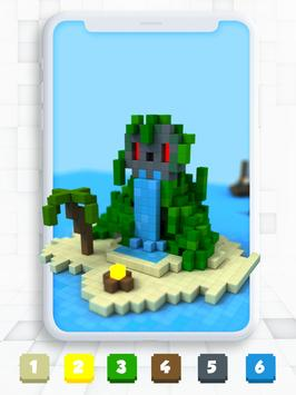 Color By Number Pixel Art 3d For Android Apk Download