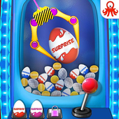 Surprise Eggs Toy Candy Claw Machine icon