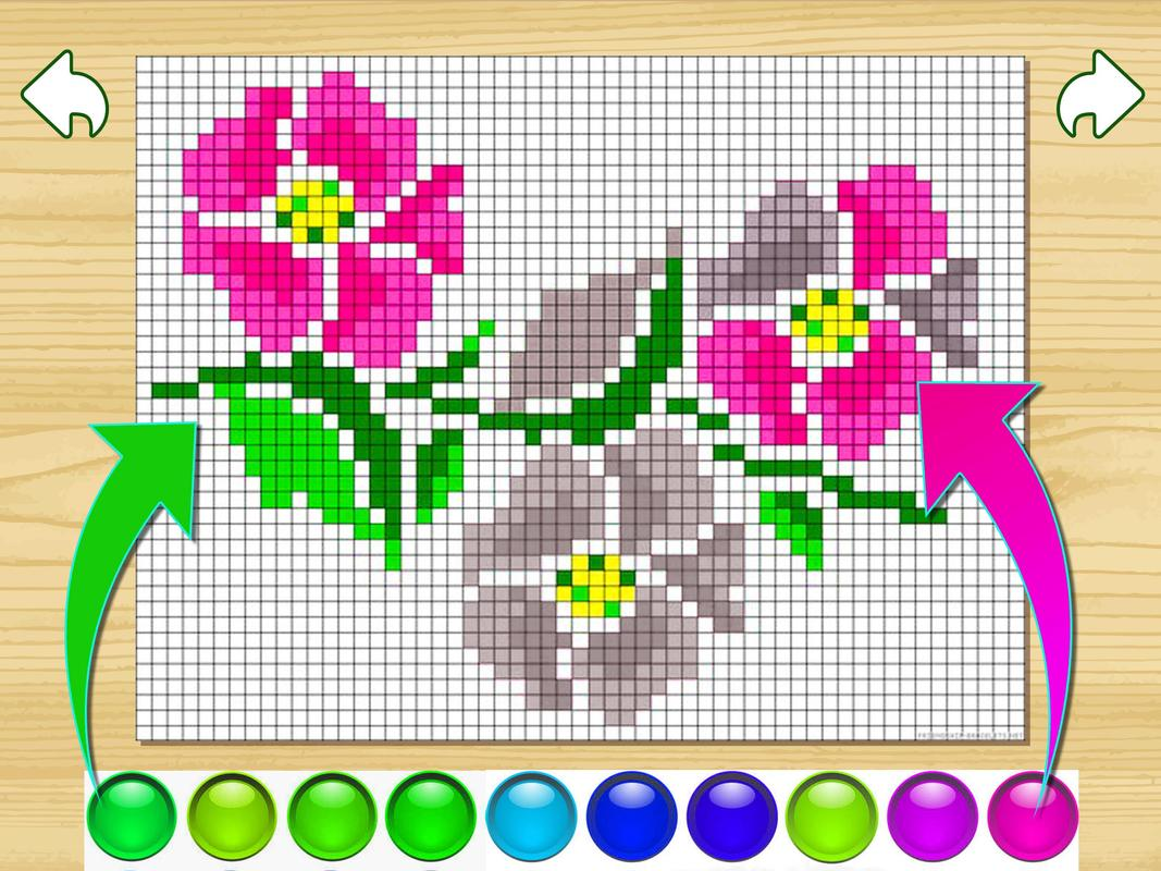 Kids Coloring By Numbers Pixel Art Page for Android - APK Download