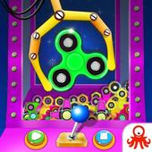 Prize Claw Machine Fidget Spinner icon