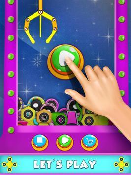 Prize Claw Machine Fidget Spinner screenshot 1