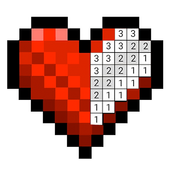 Sandbox Color By Number Pixel Art Coloring Book icon