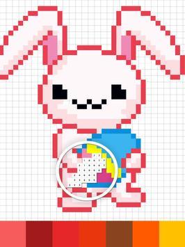 Sandbox Color By Number Pixel Art Coloring Book screenshot 3