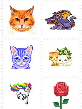 Sandbox Color By Number Pixel Art Coloring Book screenshot 11