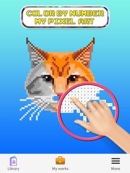 Sandbox Color By Number Pixel Art Coloring Book screenshot 2