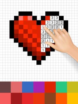 Sandbox Color By Number Pixel Art Coloring Book screenshot 5