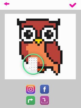 Sandbox Color By Number Pixel Art Coloring Book screenshot 8