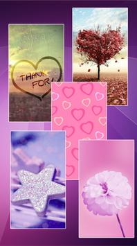 Girly Wallpapers Backgrounds Poster Apk Screenshot