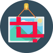 Cut And Paste Photo Image icon