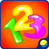 Learning numbers for toddlers - educational game icon
