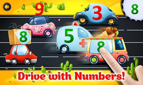 Learning numbers for toddlers - educational game apk screenshot