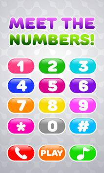 Baby Phone for Kids - Learning Numbers and Animals poster