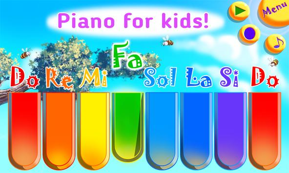 Baby Zoo Piano with Music for Toddlers and Kids poster