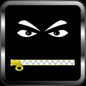 Zipper Lock Screen appalling icon