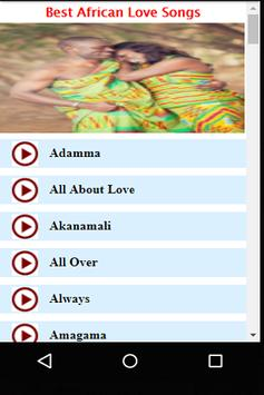 Best African Love Songs apk screenshot