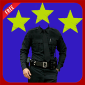 Police Suit Photo Montage icon