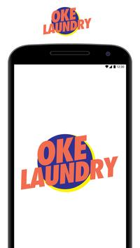 OKE Laundry : One Day Service poster