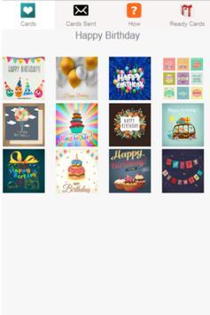 Free Birthday Card Maker poster