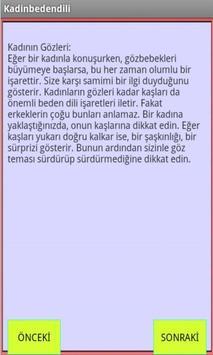 KADIN BEDEN DİLİ apk screenshot