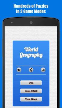 World Geography Quiz poster