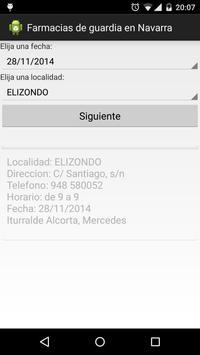 Farmacia de guardia en Navarra apk screenshot