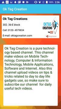 Oktag Creations screenshot 4