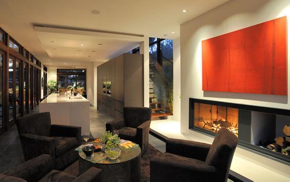 Living Room - Home Design poster