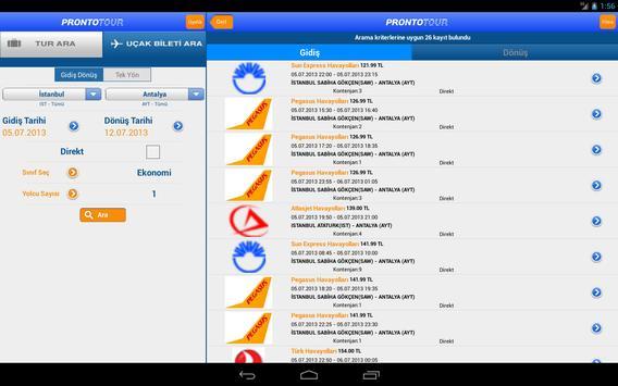 Prontotour screenshot 8