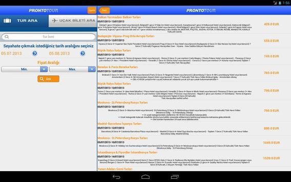 Prontotour screenshot 9
