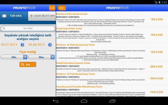 Prontotour screenshot 13
