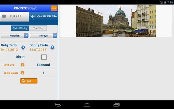 Prontotour screenshot 11
