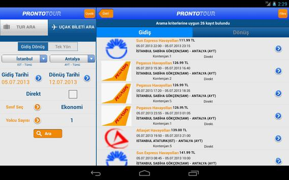 Prontotour screenshot 12