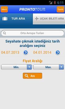 Prontotour screenshot 2