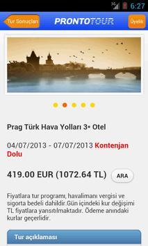 Prontotour screenshot 3