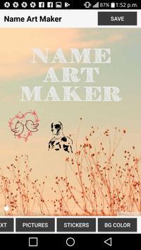 Name Art Maker apk screenshot
