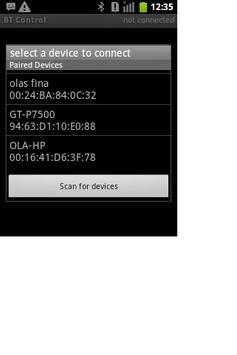 Bluetooth Control apk screenshot