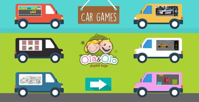 Toddler Car Game poster