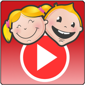 KidVid - video player for kids icon