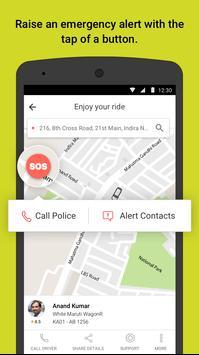 Ola cabs - Taxi, Auto, Car Rental, Share Booking apk स्क्रीनशॉट