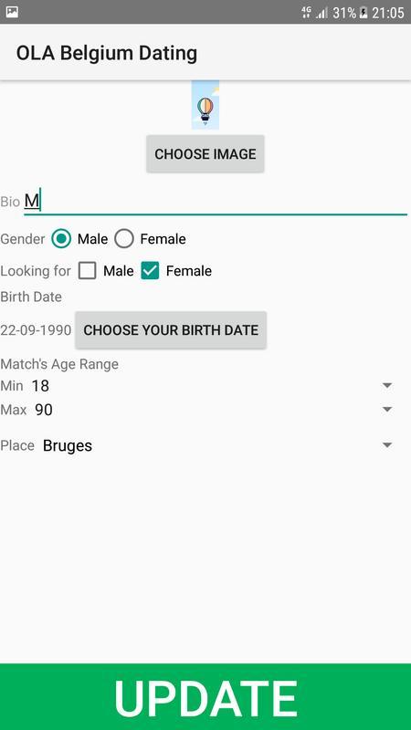 Looking for dating site in belgium