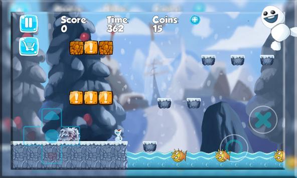 Super Olaf run  Adventure screenshot 1