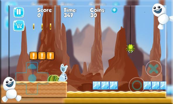 Super Olaf run  Adventure screenshot 2