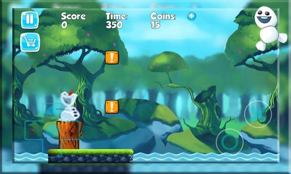 Super Olaf run  Adventure screenshot 5