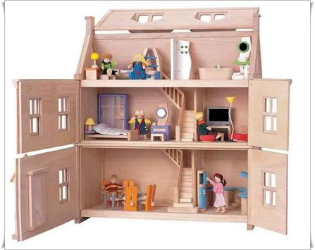 Famous Doll House Design poster