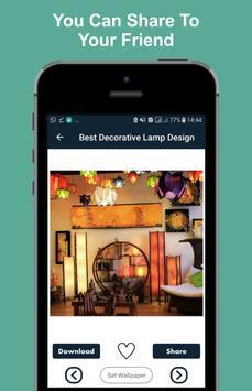 Best Decorative Lamp Design apk screenshot