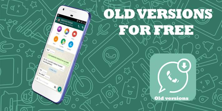 Old version whatsapp guide poster