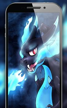 Mega Charizard X Wallpapers HD Apk Screenshot