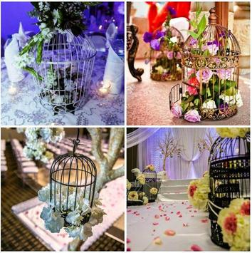 Old Bird Cage Decorating Ideas poster