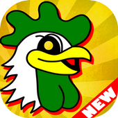 chicken egg magic icon