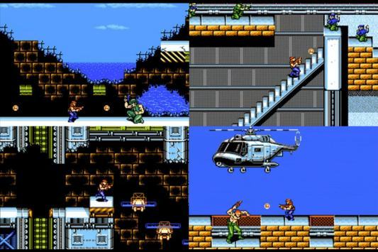 Kontra Force Nes screenshot 1